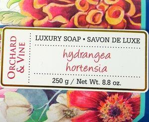 Luxury Soap hydrangea